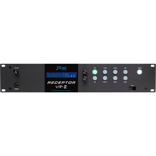 Muse Research Receptor VIP2 Virtual Instrument Player (2RU) VIP2