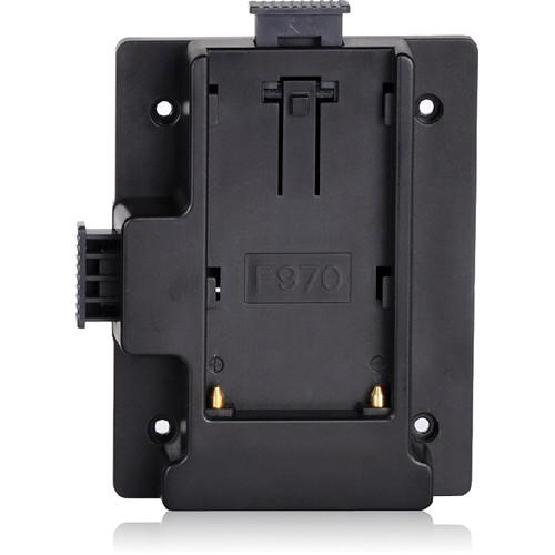 MustHD F970 Battery Plate for On-Camera Field Monitor BTPLF970