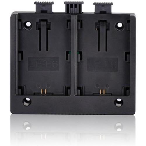 MustHD LP-E6 Battery Plate for On-Camera Field Monitor BTPLLPE6