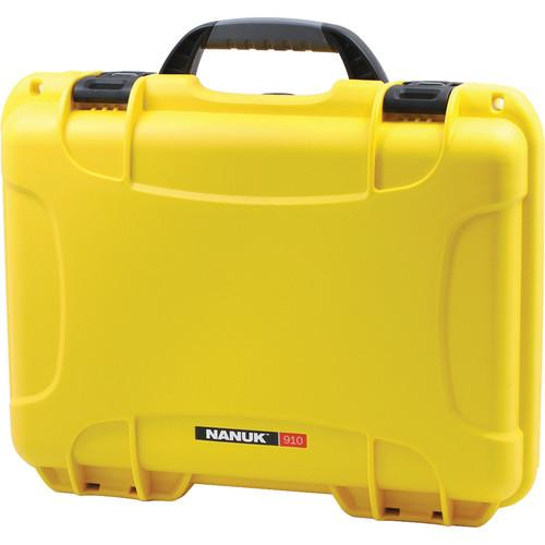 Nanuk  910 Case (Yellow) 910-0004