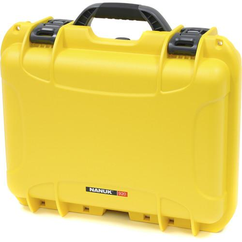 Nanuk 920 Case with Padded Dividers (Yellow) 920-2004