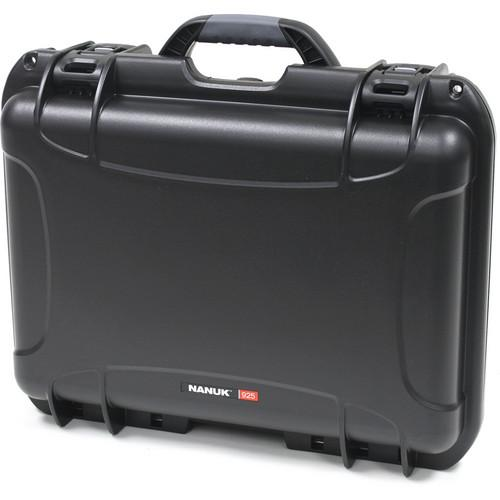 Nanuk 925 Case with Padded Dividers (Black) 925-2001