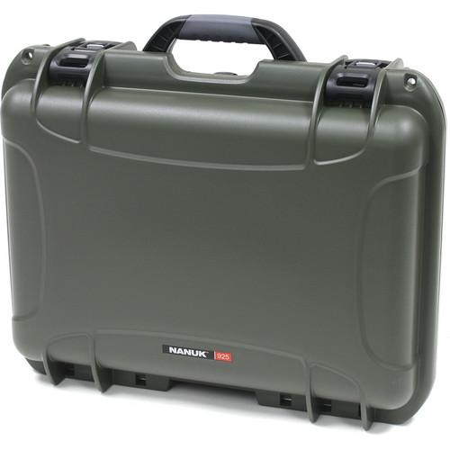 Nanuk 925 Case with Padded Dividers (Olive) 925-2006