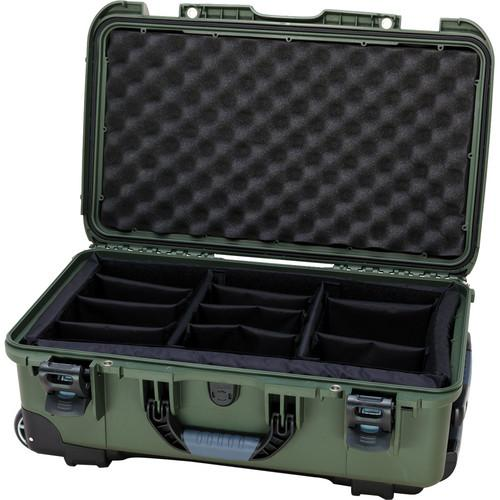 Nanuk Protective 935 Case with Padded Dividers (Olive) 935-2006