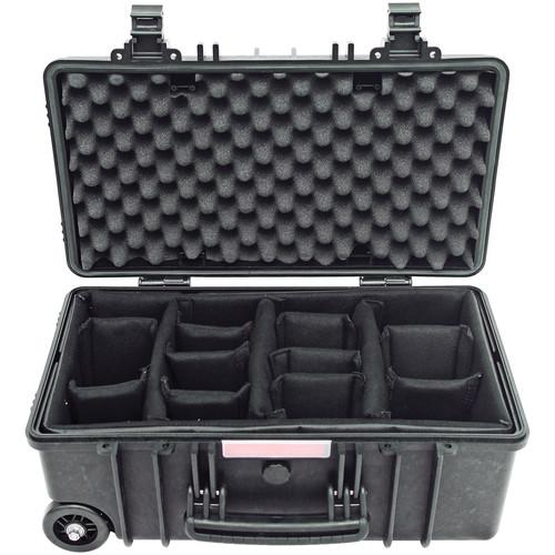 Nautilus Nomad 2200-AG Carry-On Case NS-NOM2200-BLK-DIV