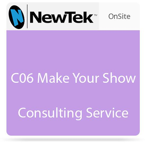 NewTek C06 Make Your Show Consulting Service FG-000897-R001