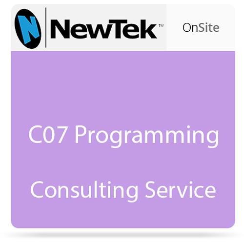 NewTek C07 Programming Consulting Service FG-000898-R001