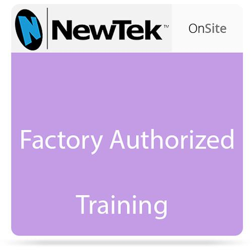 NewTek On-Site Training, 8-Hours Non-taxable FG-000894-R001