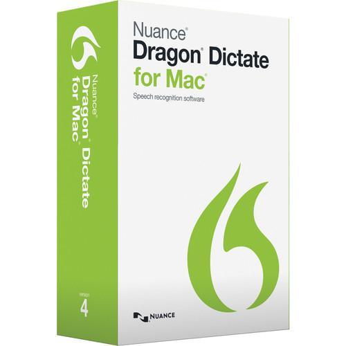 Nuance  Dragon Dictate for Mac v4 S601A-G00-4.1