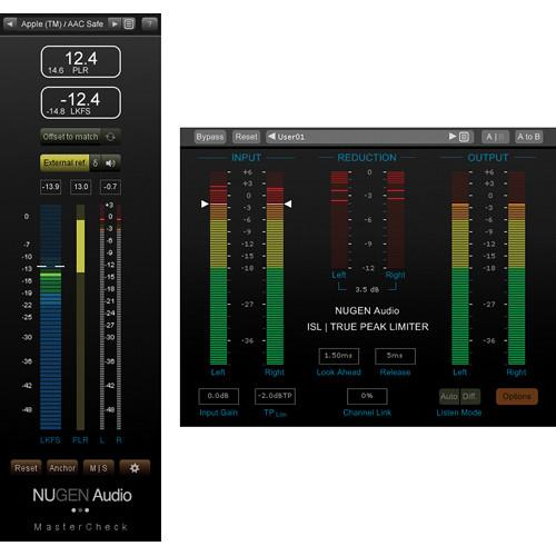 NuGen Audio MasterCheck & ISL - Loudness & 11-33164