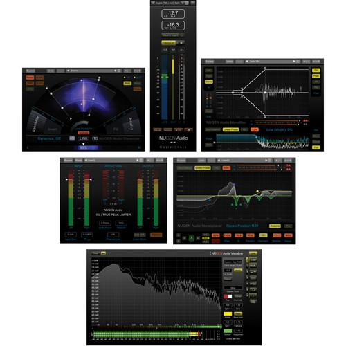 NuGen Audio Producer Pack - Mix and Mastering Plug-In 11-33163