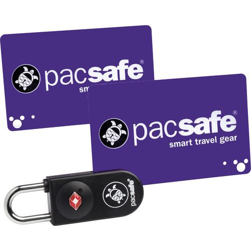 Pacsafe Prosafe 750 TSA-Accepted Key-Card Lock (Black) 10240100
