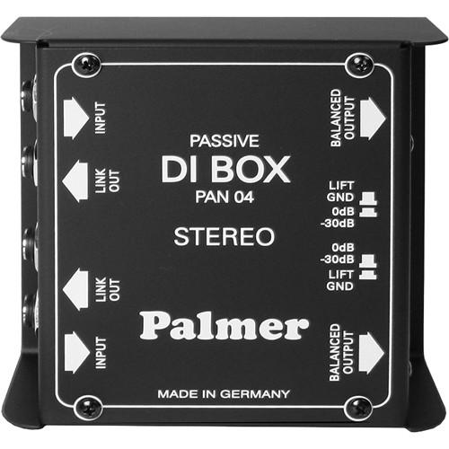Palmer  PAN 04 Dual-Channel DI Box PAN04