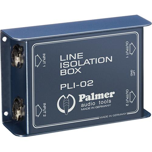 Palmer PLI02 Line Isolation Box (2 Channels) PLI02