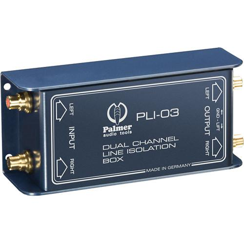 Palmer PLI03 Line Isolation Box (2 Channels) PLI03