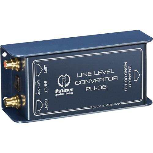 Palmer PLI06 Line Level Converter (2 In, 1 Out) PLI06