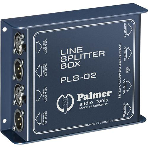 Palmer  PLS02 Dual Channel Line Splitter PLS02