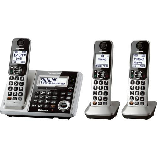 Panasonic KX-TGF372S Link2Cell Bluetooth Cordless KX-TGF373S