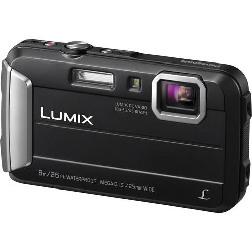 Panasonic Lumix DMC-TS30 Digital Camera Deluxe Kit (Black)