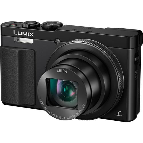 Panasonic Lumix DMC-ZS50 Digital Camera Basic Kit (Black)
