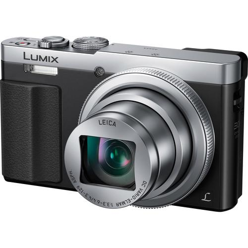 Panasonic Lumix DMC-ZS50 Digital Camera Deluxe Kit (Silver)