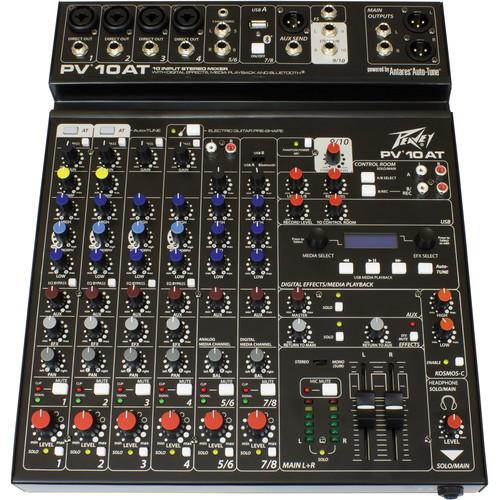 Peavey PV 10 AT Mixing Console with Bluetooth and 03612610