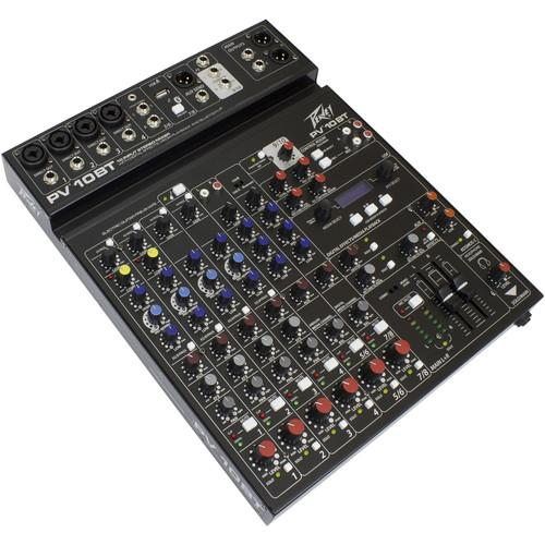Peavey PV 10 BT Mixing Console with Bluetooth 03612790