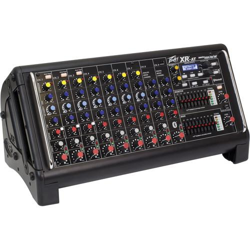Peavey XR-AT 9-channel Powered Mixer with Bluetooth 03612200