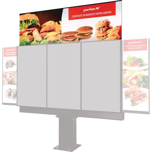 Peerless-AV Topper for 3-Panel Outdoor Digital Menu ACC-DTTP3