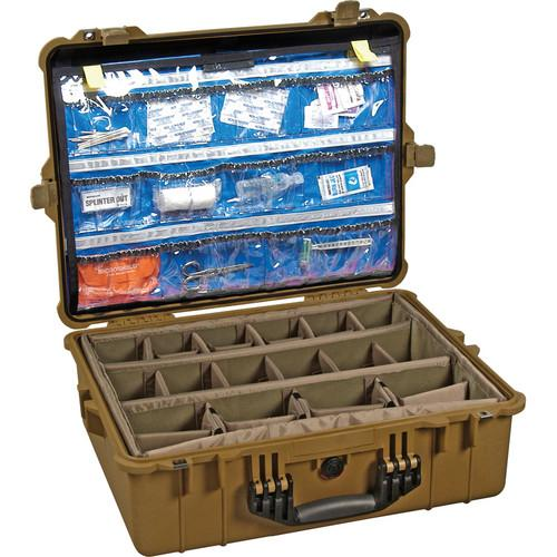 Pelican 1600EMS EMS Case with Organizer and 1600-005-190