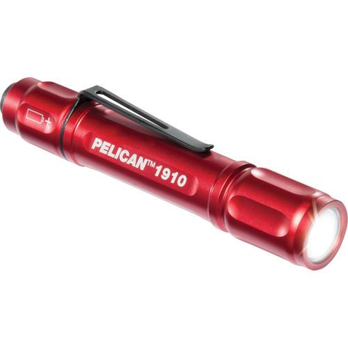 Pelican 1910B MityLite LED Flashlight (Red) 019100-0000-170