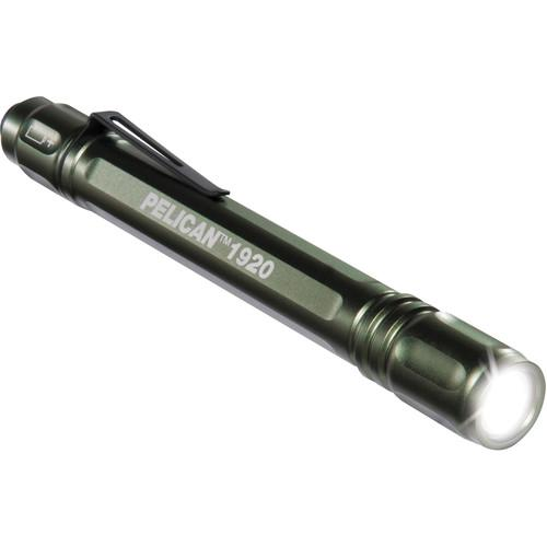 Pelican 1920B MityLite LED Flashlight (Green) 019200-0000-135