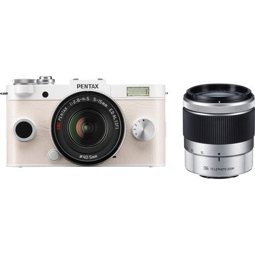 Pentax Q-S1 Mirrorless Digital Camera with 5-15mm and 06200