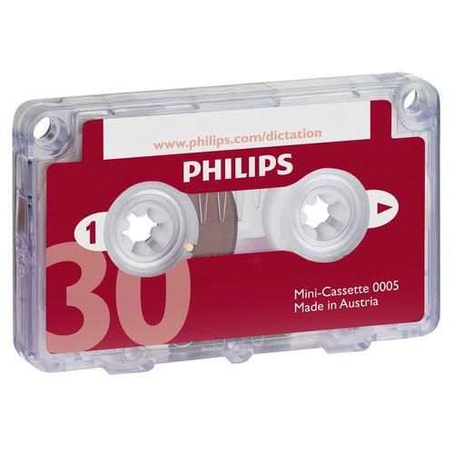 Philips  30-Minute Mini Cassette Tape LFH0005/60