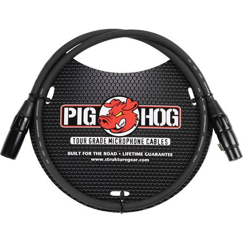 Pig Hog  Pig Hog 8mm Mic Cable (3') PHM3