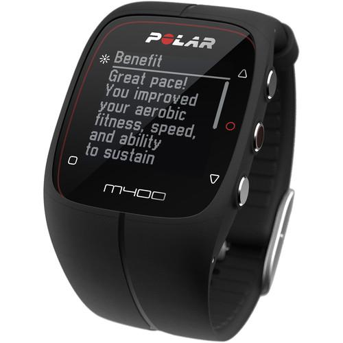 Polar  M400 Sports Watch (Black) 90051090