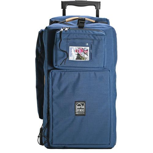 Porta Brace WPC-10RAUD Wheeled Production Case (Blue) WPC-1ORAUD