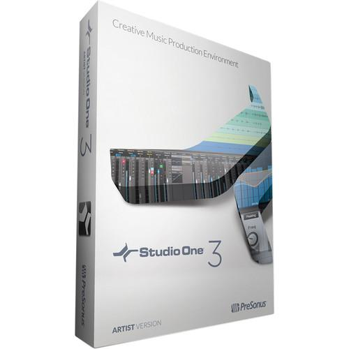 PreSonus Studio One Artist 3 - Audio and MIDI S1 ART3.0 VSSD/XCH