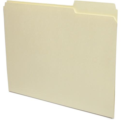 Print File Letter Size Archival File Folders (50 Pack) 285-1010