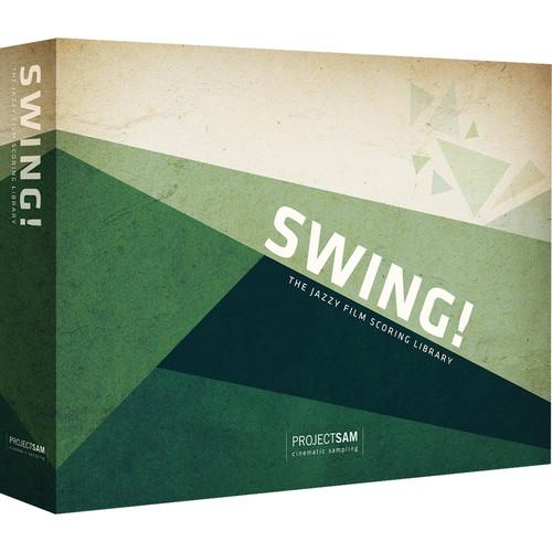 ProjectSAM Swing! - The Jazzy Film Scoring Library PS-SWNG-H