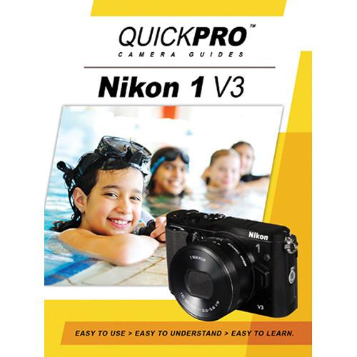 QuickPro DVD: Nikon 1 V3 Instructional Camera Guide 5027