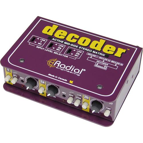 Radial Engineering Decoder Mid-Side Mic Matrix R800 1415