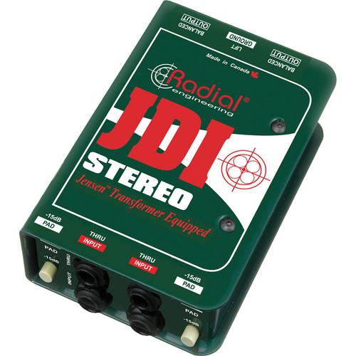 Radial Engineering JDI Stereo Passive Direct Box R800 1012