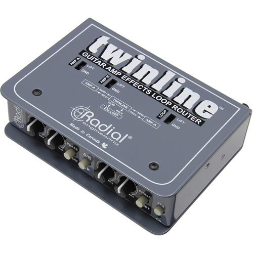 Radial Engineering Twinline FX Router for Two Guitar R800 1430