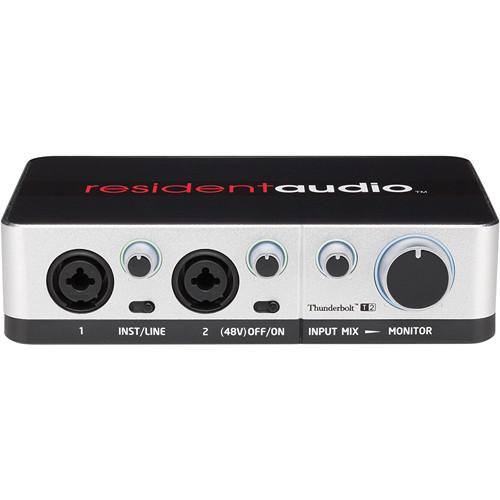 Resident Audio T2 Two-Channel Thunderbolt Audio Interface RAT2