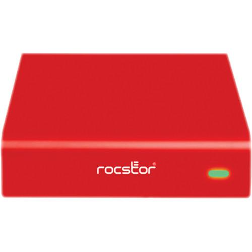 Rocstor 2TB Rocpro 900e External Hard Drive (Red) G269S2-R1