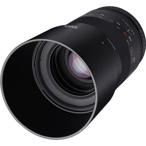 Rokinon 100mm f/2.8 Macro Lens for Canon EF 100M-C