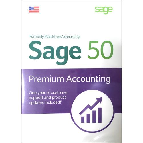 Sage Software Sage 50 Premium Accounting 2015 (Boxed) PPA12015RT