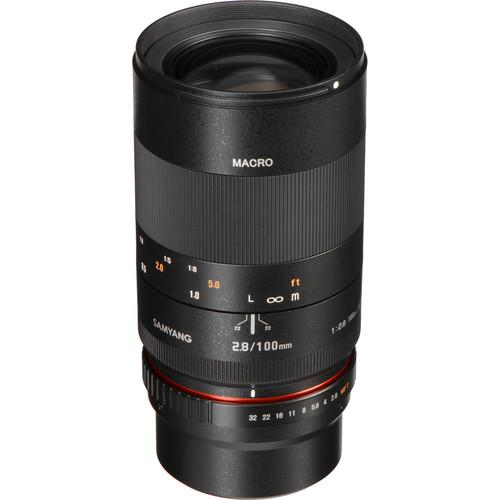 Samyang 100mm f/2.8 ED UMC Macro Lens for Micro Four SY100M-MFT