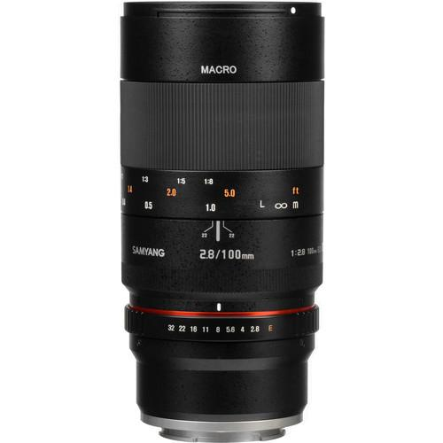 Samyang 100mm f/2.8 ED UMC Macro Lens for Sony E SY100M-E